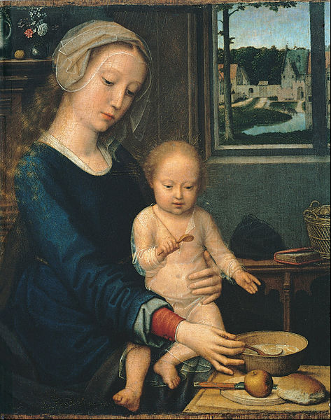 473px-Gerard_David_-_Madonna_and_Child_with_the_Milk_Soup_-_Google_Art_Project