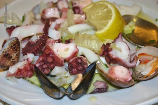 Морской салат в Палермо