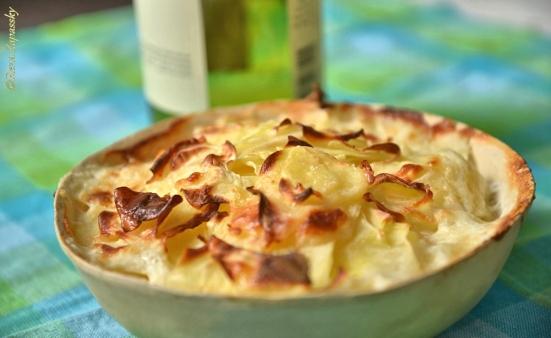 potato gratin картофельный гратен