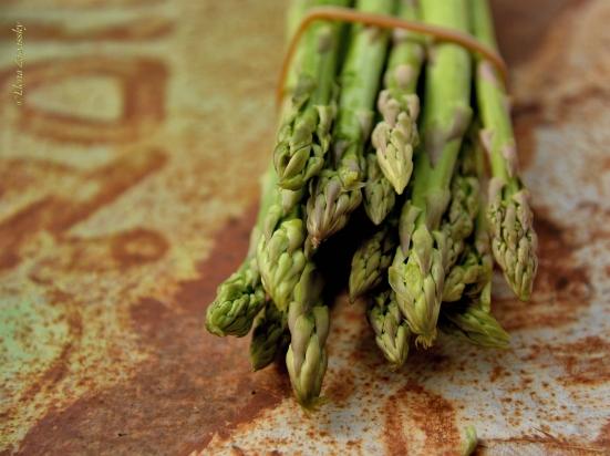 Суп-пюре из спаржи, asparagus soup