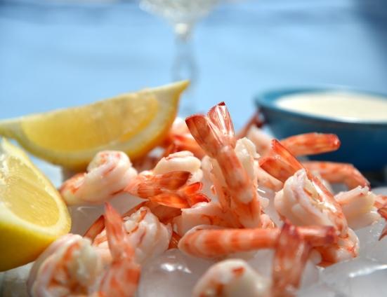 shrimps cocktail
