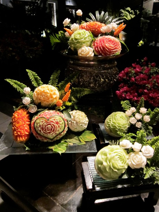 thailand fruit carving 1