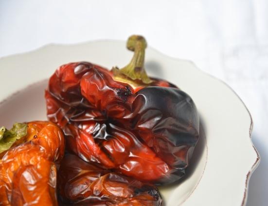 Запеченный сладкий перец