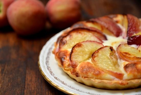 Peaches tart