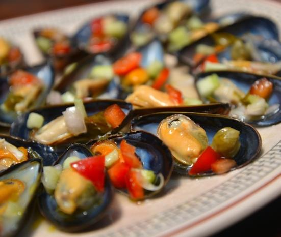 МАРИНОВАННЫЕ МИДИИ Mussels Vinaigrette ТАПАС РЕЦЕПТ