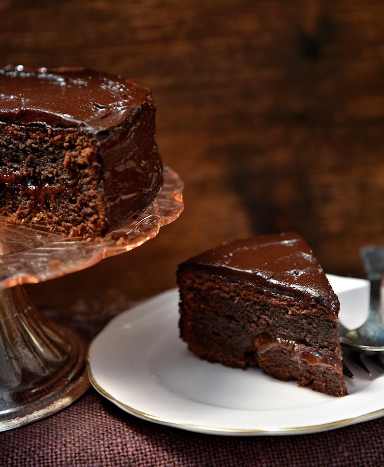 торт с абрикосовым вареньем рецепт с фото