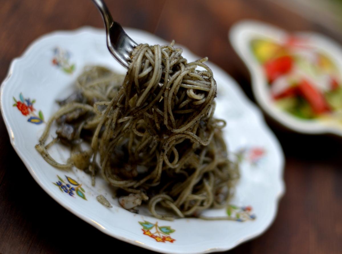 ЧЕРНАЯ ПАСТА ИЗ ВЕНЕЦИИ Spaghetti al nero di seppia