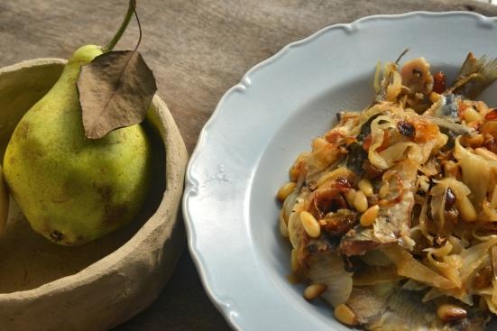 САРДИНЫ ПО-СИЦИЛИАНСКИ БАЗА ДЛЯ Pasta con sarde