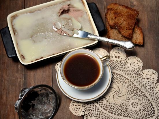 Паштет из куриной печени абсолютно французский рецепт