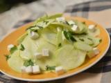Салат из сырых кабачков илицуккини