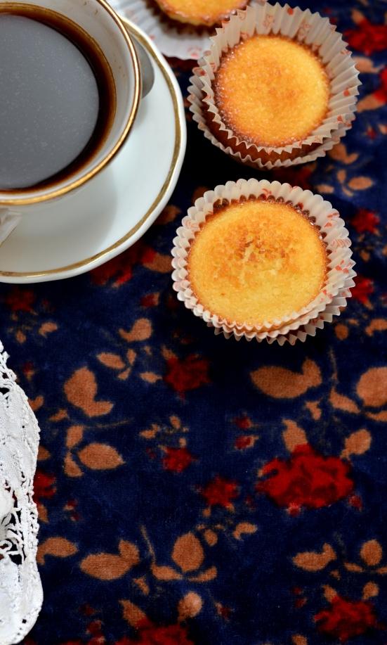 Португальское кокосовое пирожное