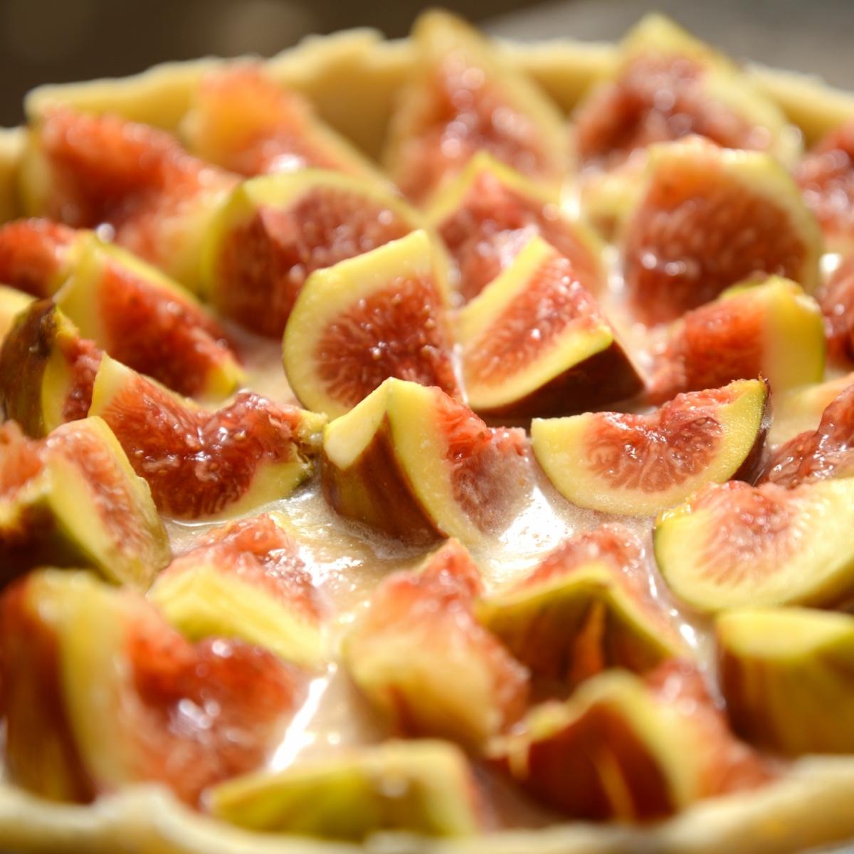 Торт с инжиром (смоковница, инжир, фига, винная ягода)