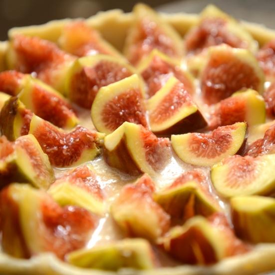 Торт с инжиром (смоковница, инжир, винная ягода)