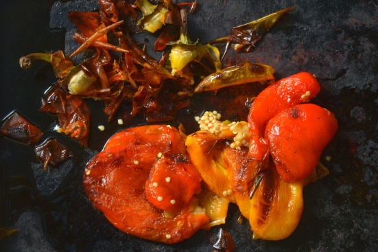Сладкий перец с бальзамическим уксусом из Мадены