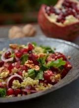 Салат из свеклы с фрике и зернамиграната