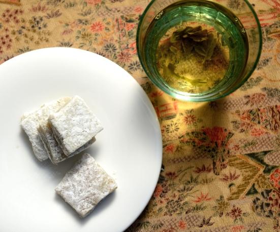 Моти - японский десерт 餅 mochi