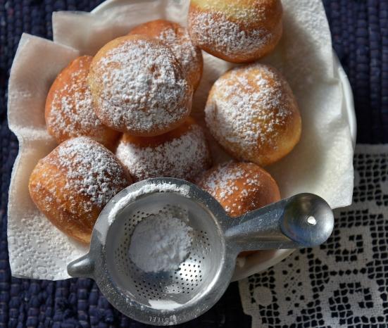Пончики суфганиет к хануке