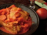 Цыпленок в баскскомстиле