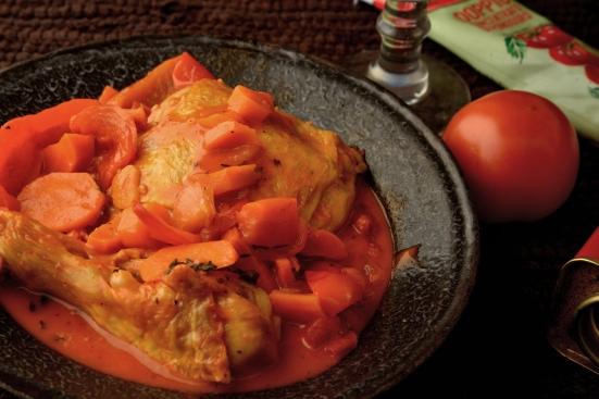 Цыпленок в баскском стиле