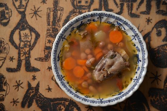 Окстейл суп