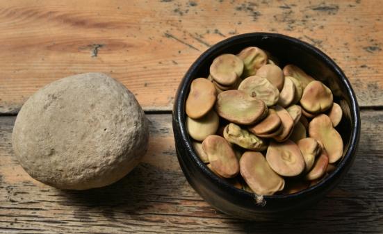 Салат-паста из бобов