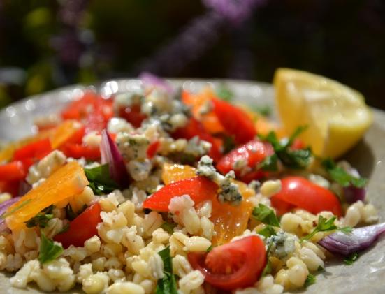 Салат из пшеницы