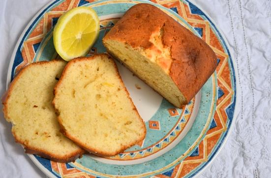 Французский лимонный кекс