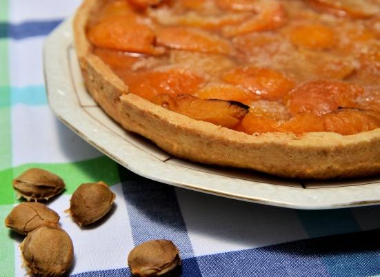 Абрикосовый тарт с агар агаром