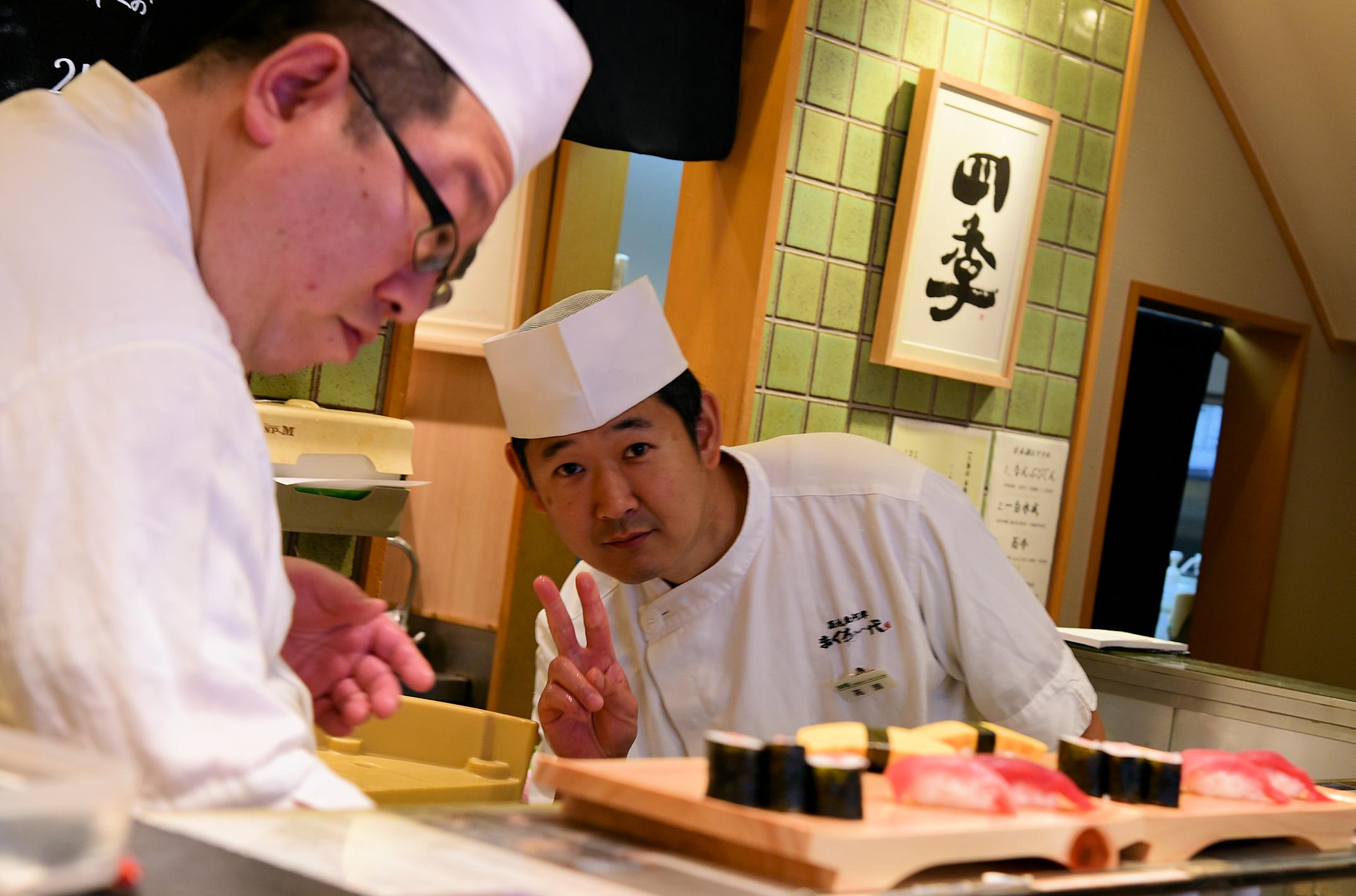Пьем и едим в Японии