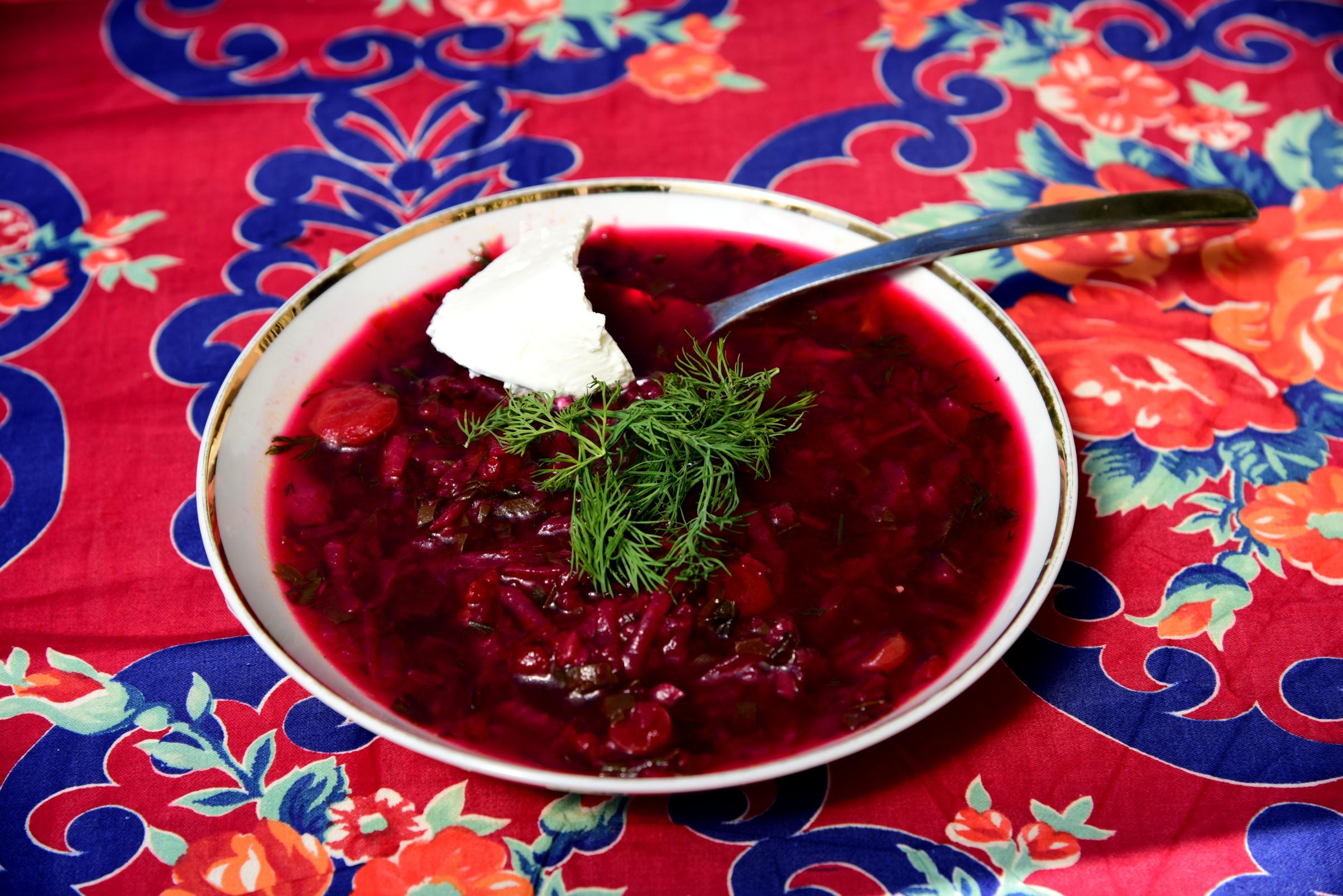 красный борщ со свеклой рецепт с фото связать попону