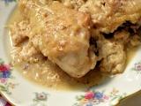 Poulet à la comtoise Цыпленок в стилеКонте