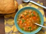 Осенний суп изхумуса-нута
