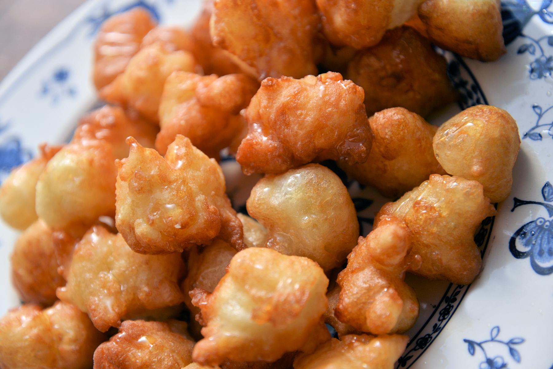 Сефардские ханукальные оладушки