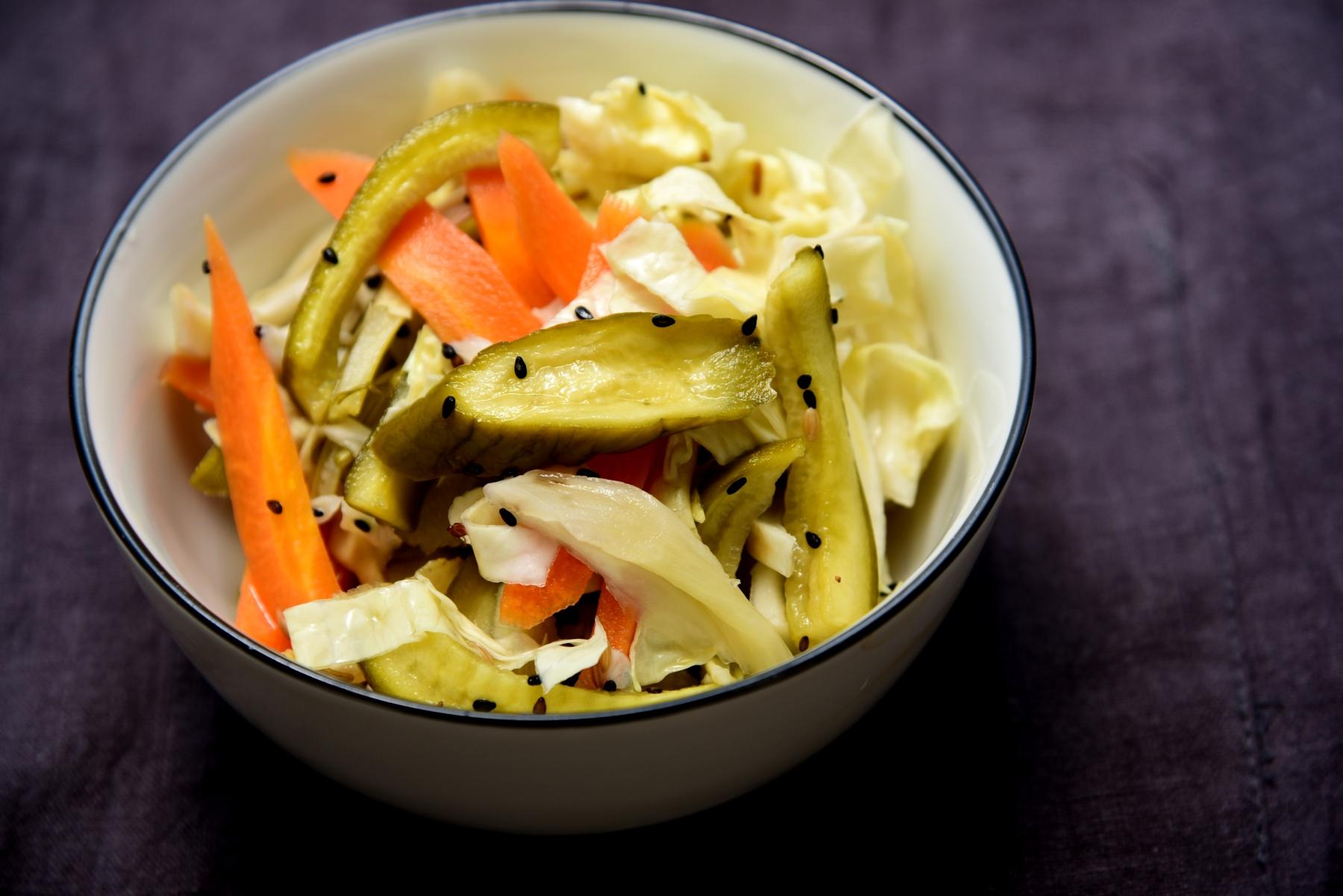 Овощи, маринованные в китайском стиле